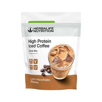 Koffie-latte  eiwitrijk