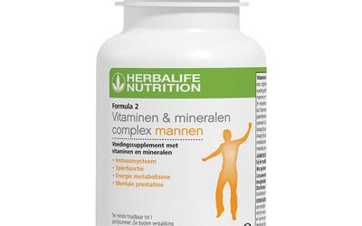 Vitaminen complex voor heren